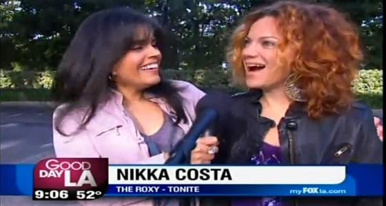 Mar Yvette and Nikka Costa on the Good Day LA show