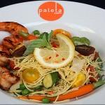 Paleta's shrimp platter