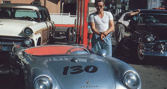 James Dean in one of his last photos