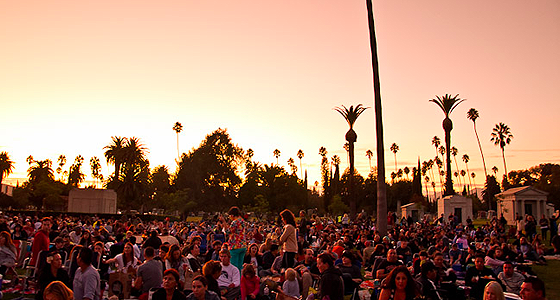 Hollywood Forever Cemetery - Photo by Kelly Lee Barrett