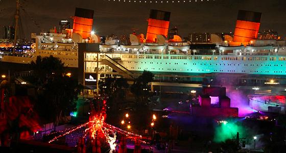 Queen Mary Dark Harbor