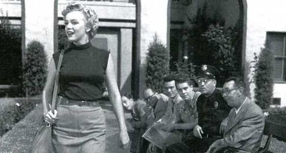 Marilyn Monroe @ RKO Studios