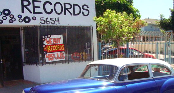 Photo courtesy of Records LA