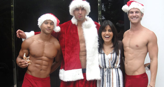Deck the hals: Mar Yvette & a few gay Santas