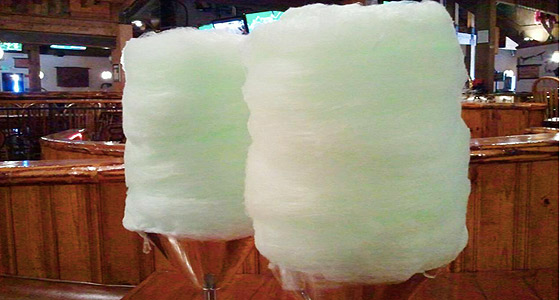 Saddle up: Saddle Ranch's ginormous cotton candy