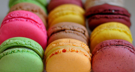 Macarons from XT Patisserie
