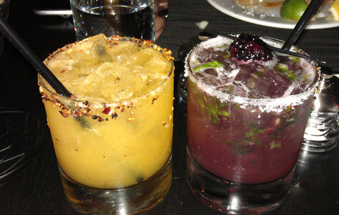 Taberna Mexicana's tasty margaritas - Photo by Mar Yvette