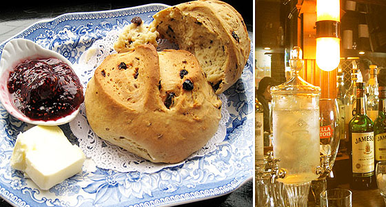 Muldoon's soda bread & Irish booze