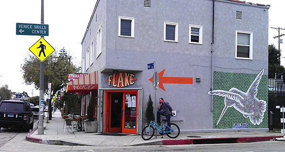 Flake .. as in corn. Photo by Mar Yvette