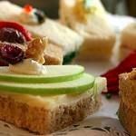 Tasty little tea sandwiches