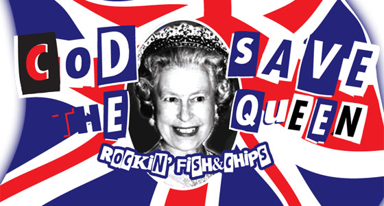 Cod Save the Queen!