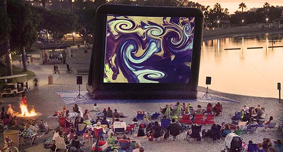 A little psychedelic cinema @ Newport Dunes