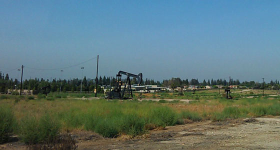 Brea oil fields - Photo by Mar Yvette