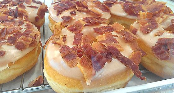 SK bacon donut - Photo by Mar Yvette