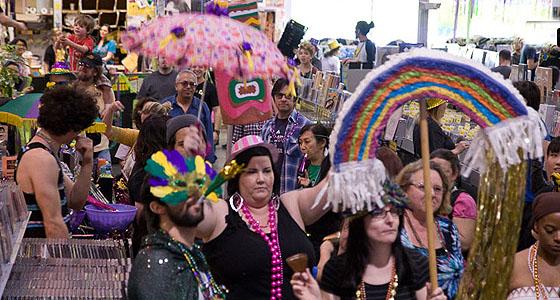 Mardi Gras @ Amoeba