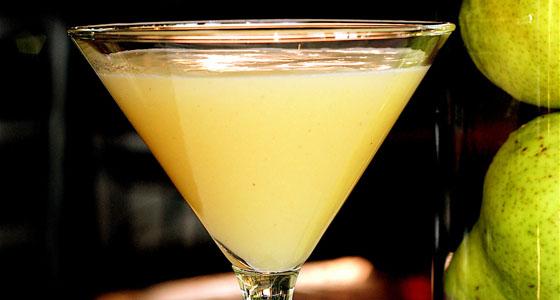 Pear-fecto Martini - Photo courtesy of Zov's Bistro