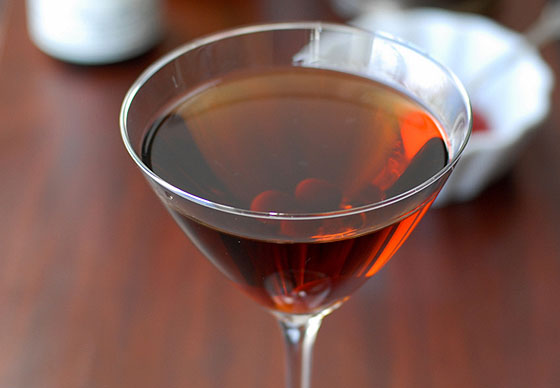 Roasted Manhattan @ Caulfield's in Beverly Hills