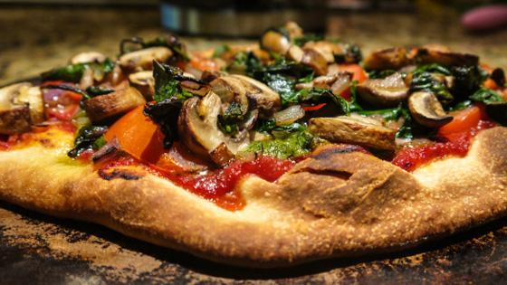 Vegan Pizza - Photo courtesy http://recetterie.wordpress.com