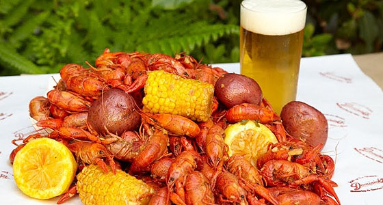 Dominicks crawfish