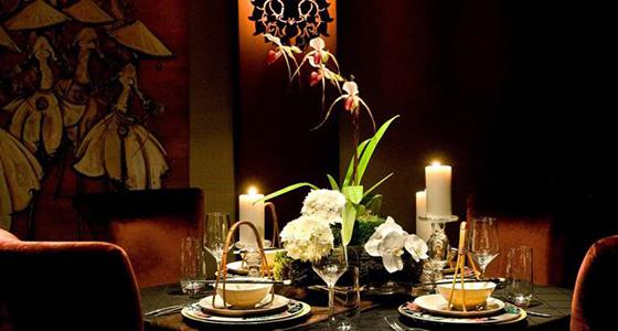 Private dining at Crustacean