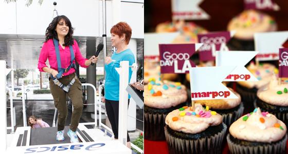 Marpop Cupcakes & Falling Off Treadmills