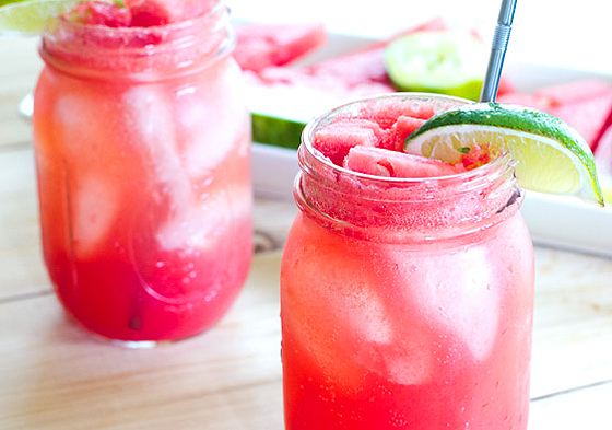 Watermelon Fizz cocktail