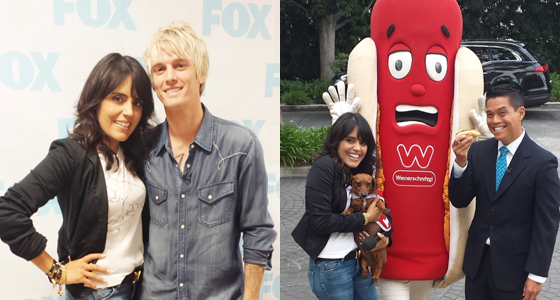 Wuvs the Weenie Dogs, Air Guitar & Aaron Carter!