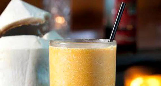 Cana's pumpkin colada - Photo by Matthew Fried