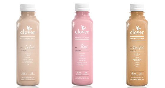 Get lucky with Clover's tasty lait