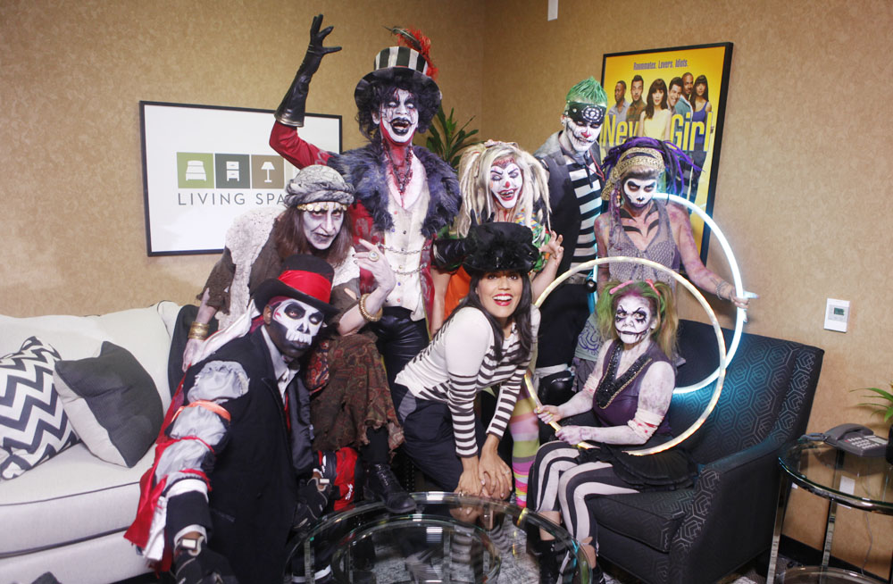 Ghouly good times in the Green Room!