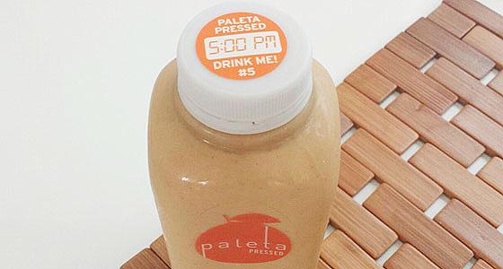 Shake it up: Paleta's pumpkin magic milkshake