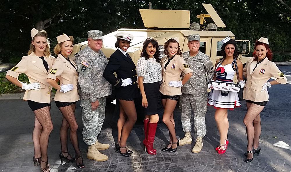 We salute those who serve!