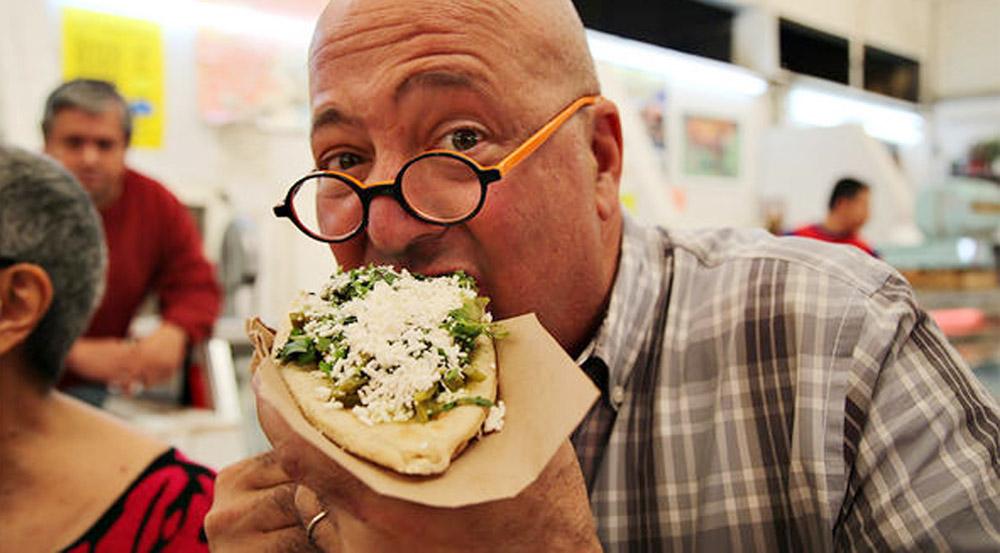 Andrew Zimmern of Bizarre Foods