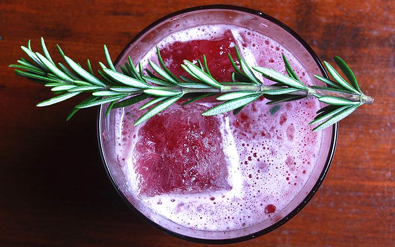 Huckleberry Sour at Raymond 1886 Bar