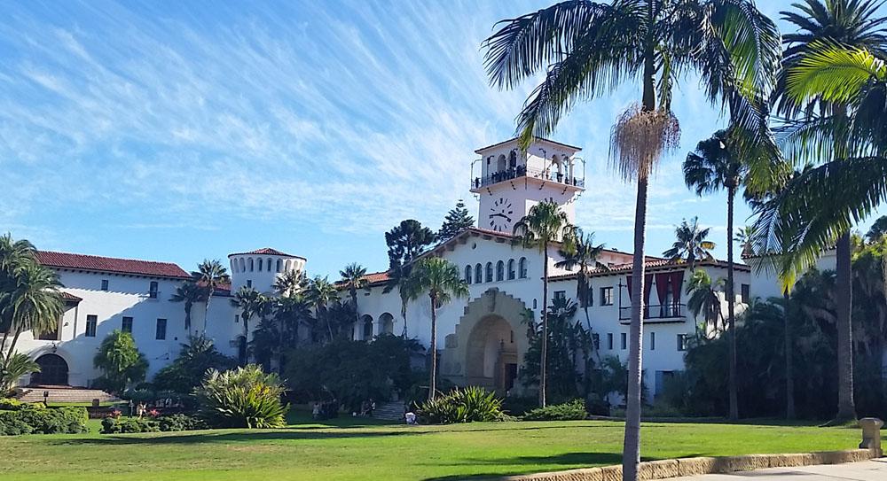 The incredible Santa Barbara Courthouse