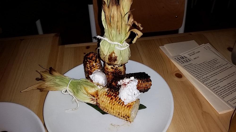 Sama Sama's deliciously stylish corn