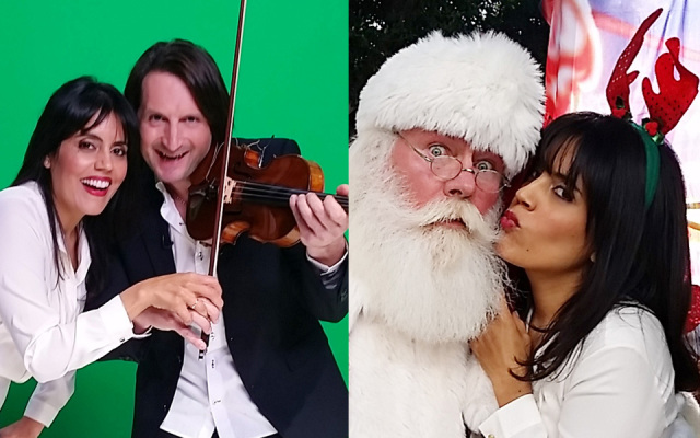 Fun with Santa & Edvin Marton's $7 Million Stradivarius
