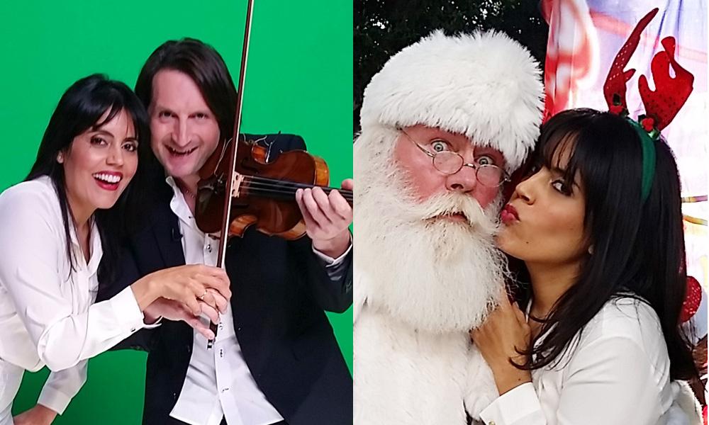 Fun with Santa & Edvin Marton's $7 Million Stradivarius