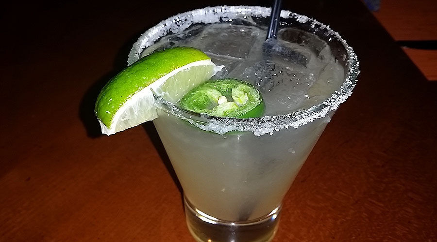 Amaya's spicy margarita