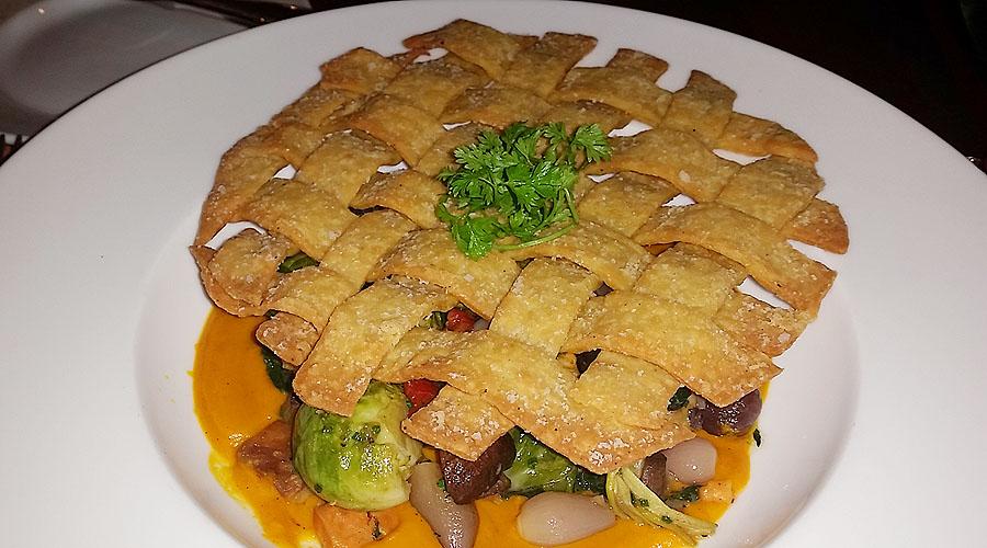 The special vegan vegetable pot pie