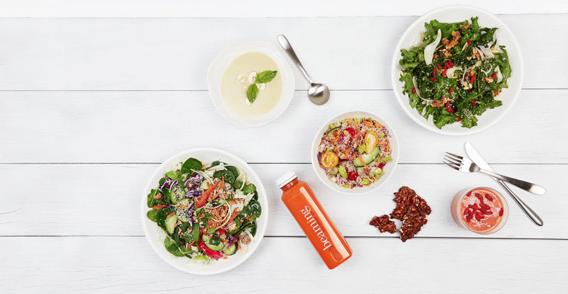 Beaming's delicious food cleanse