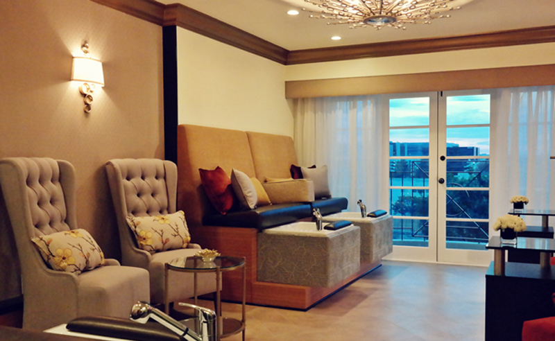 Four Seasons Beverly Hills' Nail Suite