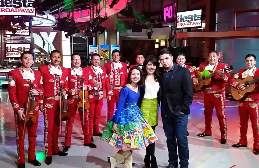 Pepe Aguilar's Kids, Mariachi & Amaze Mexican Food!