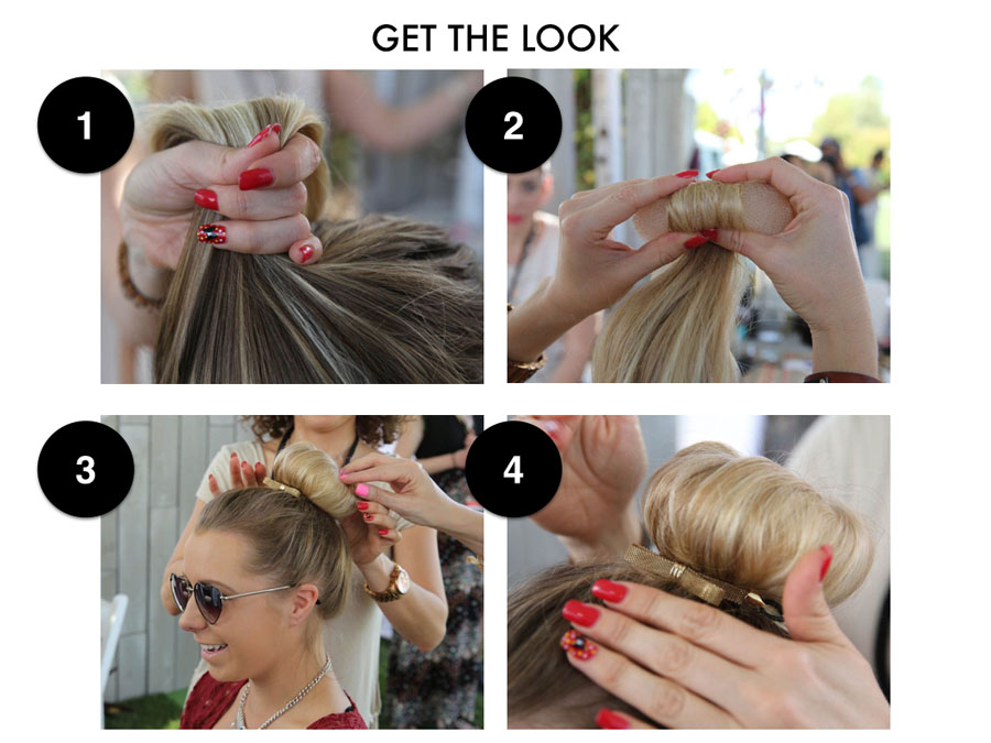 Tinkerbell Topknot Style Guide