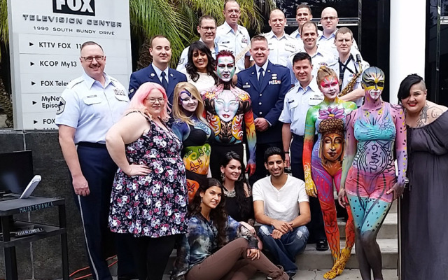 Body Painting & Armed Forces Day