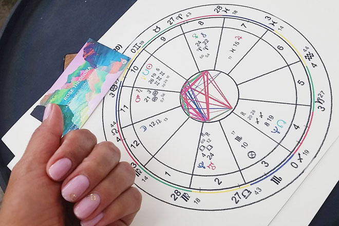Enamel Diction will give you a great mani/pedi + your colorstrology!