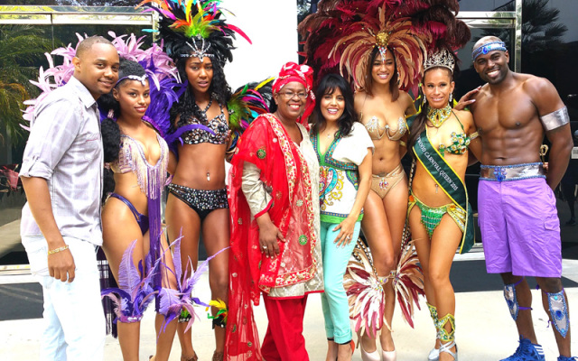Caribbean Carnival & Flying Trapeze