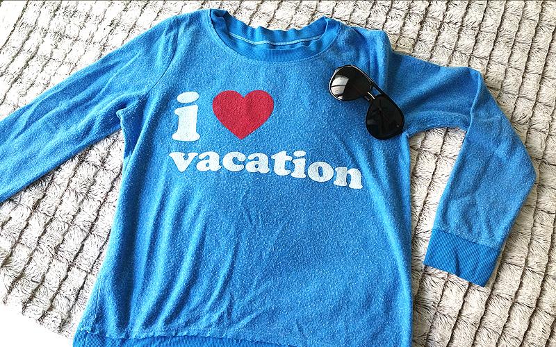 Chaser I Love Vacation - Mar Yvette