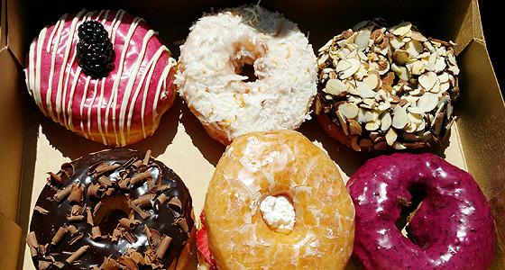 Donut Friend's amazingly delicious vegan delicacies - Photo by Mar Yvette