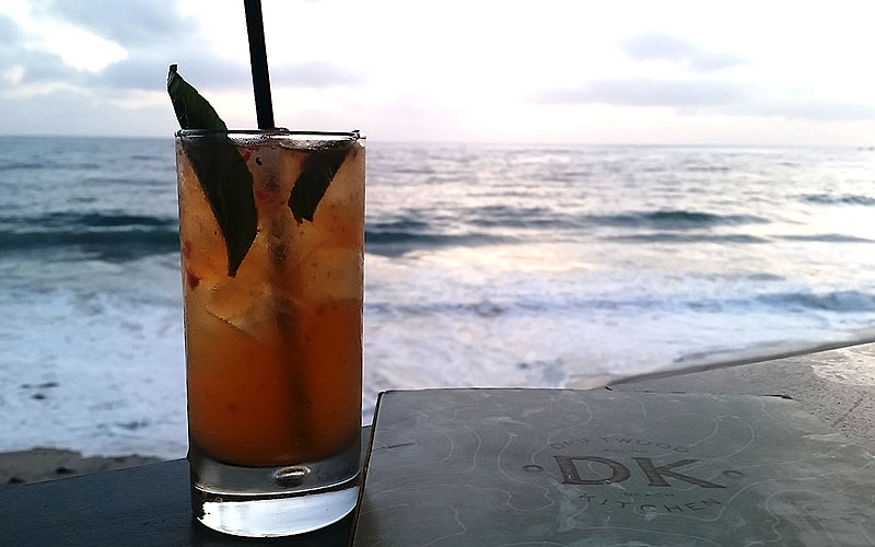 Cocktails and the best views at Driftwood Kitchen